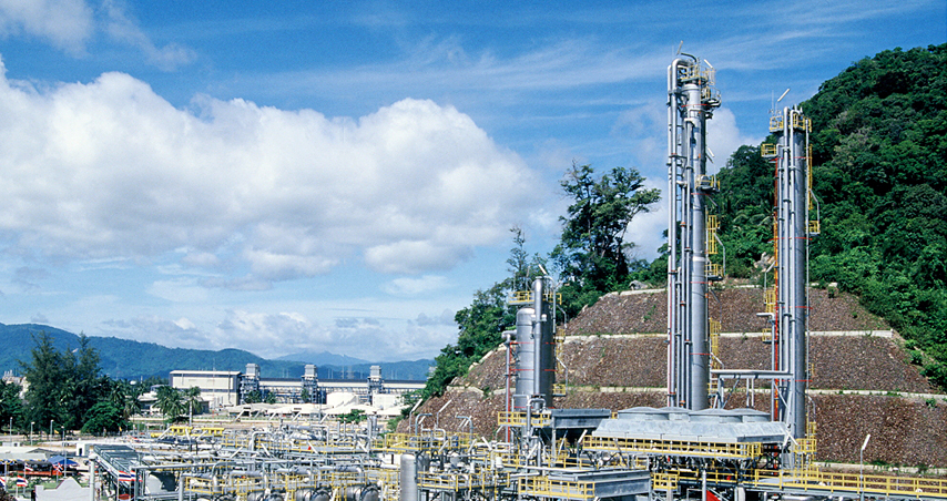 1993.10 Awarded Gas Separation Plant from PTT in Thailand