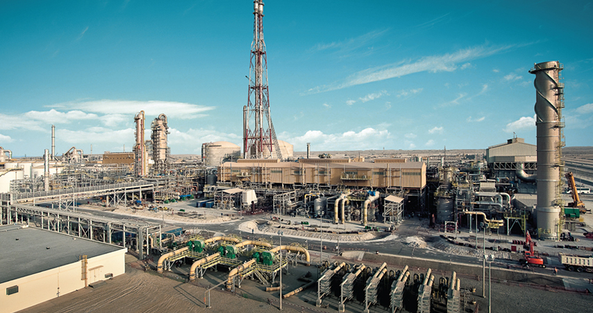 2007.06 Awarded Ammonia plant from Ma'aden in Saudi Arabia