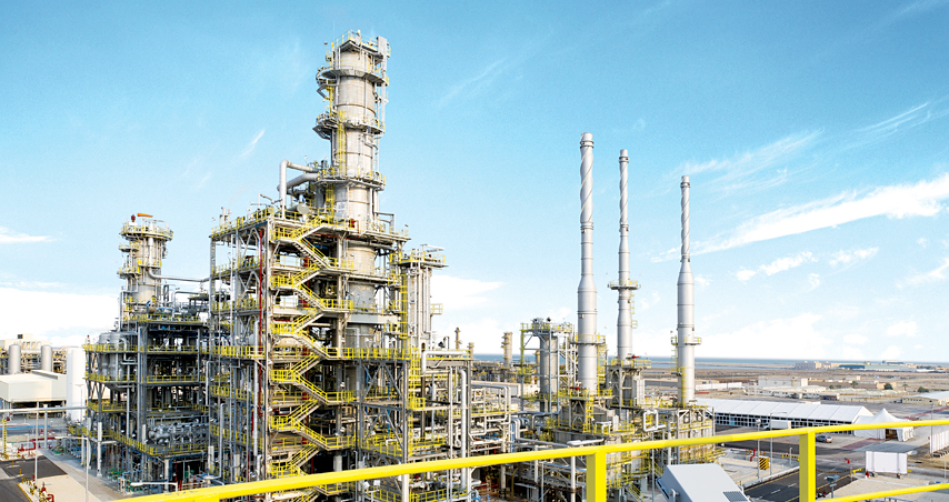 2008.08 Awarded Lube Base Oil plant from BAPCO in Bahrain