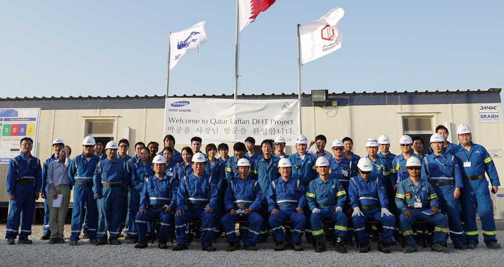 2012.01 Awarded DHT plant from QATARGAS in Qatar